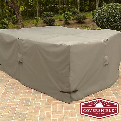 covershield rectangle furniture cover elite outdoor