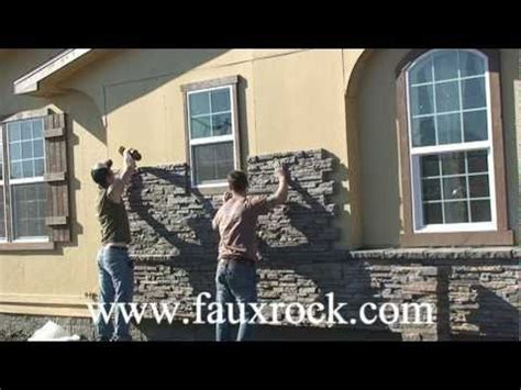 installation stacked stone veneer panels