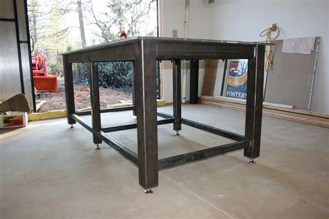 steel welding table plans homemade steel welding bench