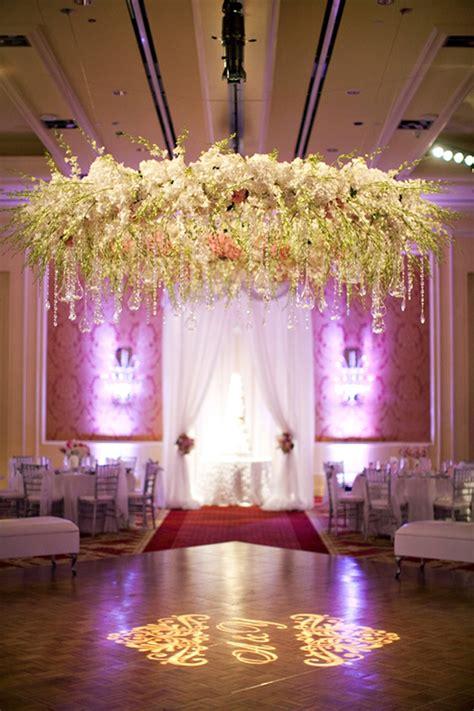 Unique Wedding Ideas Wedding Flower Chandelier