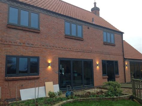 Anthracite Grey Windows, French Doors And Bi-fold Doors In