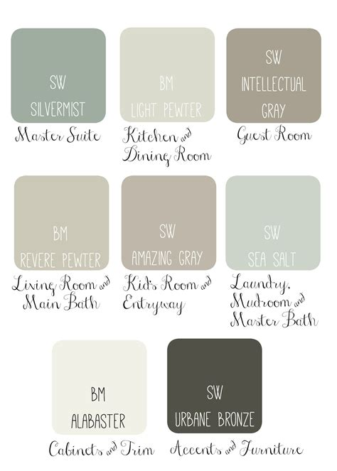 paint colors recommended by joanna gaines joanna gaines paint pallet renovation getting brave
