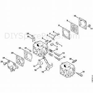 Stihl 028 Chainsaw  028wb  Parts Diagram  Carburetor Hu