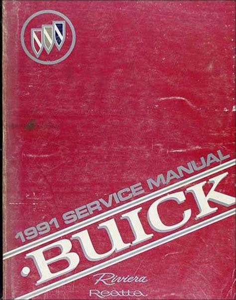 online auto repair manual 1985 buick riviera free book repair manuals 1991 buick riviera reatta repair shop manual original
