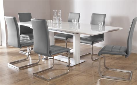 grey and white dining table impressive white table chairs white dining sets furniture