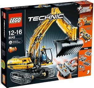 lego technic  motorized excavator price comparison