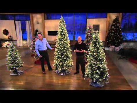 bethlehem lights slim blue spruce christmas tree  qvc