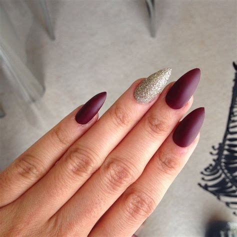 wine nails ideas  pinterest fall nail polish