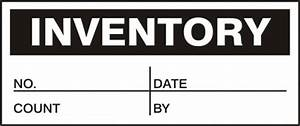inventory production control labels lpc438 With inventory control stickers
