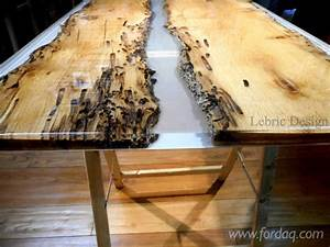 Wood Table and Epoxy Resin