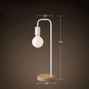 Lampe A Poser Pas Cher : ferandhome lampe de table chevet m tallique moderne ~ Teatrodelosmanantiales.com Idées de Décoration