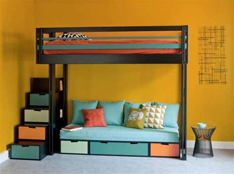 mezzanine canapé 10 solutions pour aménager le dessous d un lit mezzanine