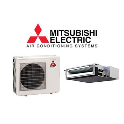Mitsubishi Heat Pumps Prices by Mitsubishi 11 500 13 600 Btu Heat W Horizontal Ducted