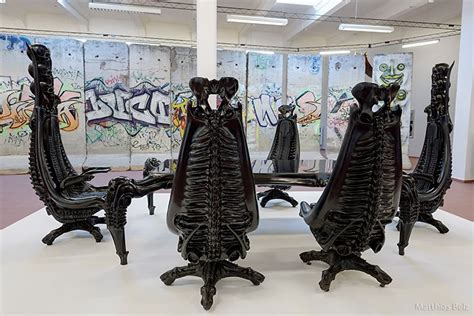 hr giger chairs home design style decor