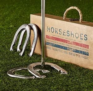 Restoration Hardware Horseshoes Game Set -- $129.00   G ...