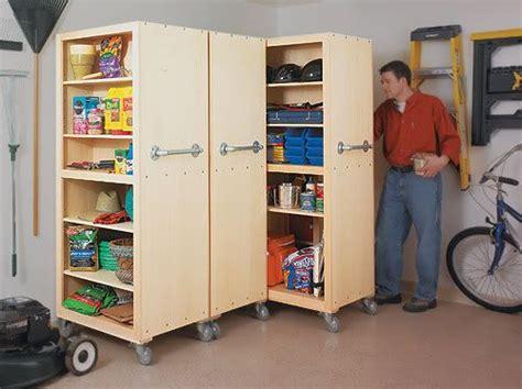 Garage Storage On Wheels garage storage cabinets rolling go sideways cabinets