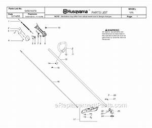 Husqvarna 125l Parts List And Diagram