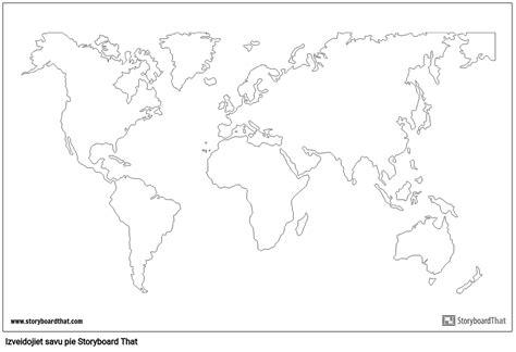 Pasaules Kartes Plakāts القصة المصورة من قبل lv-examples
