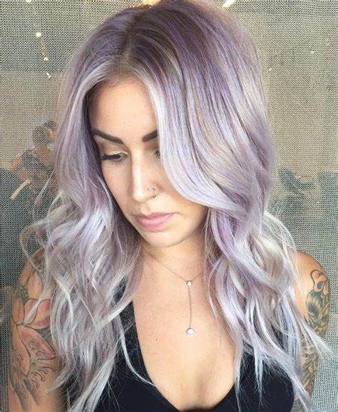 Best 25 Purple Grey Hair Ideas On Pinterest Silver