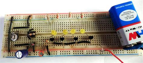Bike Car Turning Signal Indicator Circuit Using Timer