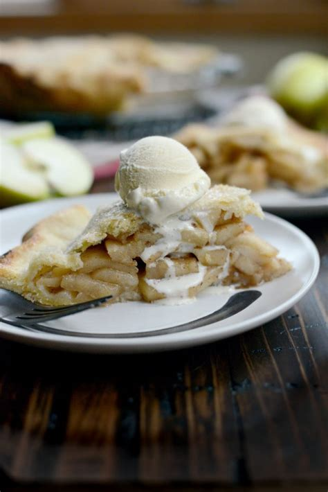 I'd love to say that to find this recipe i searched high and low and did research online as to what makes the best apple pie recipe. Simply Scratch Homemade Apple Pie - Simply Scratch