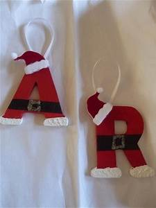 25 best ideas about santa ornaments on pinterest With cheap letter ornaments