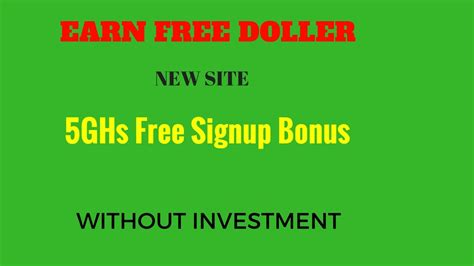 bitcoin mining without investment bitcoin cloud mining site 5ghs signup bonus free auto