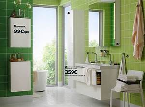 Tendance Carrelage Salle De Bain 2017 : salle de bains ikea le nouveau catalogue 2017 est en ligne c t maison ~ Farleysfitness.com Idées de Décoration