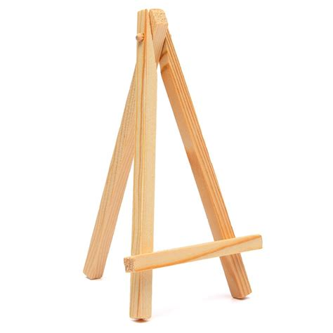 a wood wedding place card holder for a rustic high quality 9 16cm mini wood artist easel wedding table