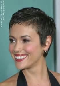 Alyssa Milano with Short Hair