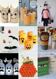 14 Manualidades recicladas para Halloween