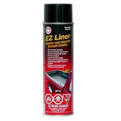 aerosol bed liner ez liner aerosol