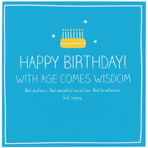 Happy Birthday Wisdom Funny