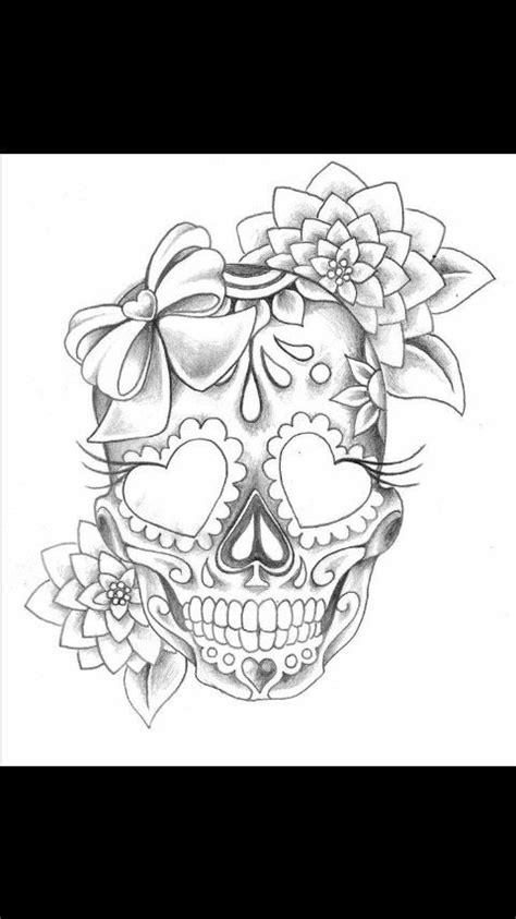 Pin by ♊Gemini Queen♊ on Tattoo/Drawing   Skull tattoo