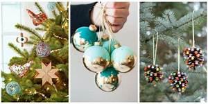 32 Homemade DIY Christmas Ornament Craft Ideas How To