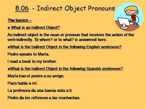 15 best images about direct object pronouns on