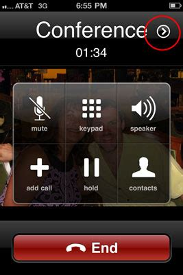 how to make conference call on iphone how to make a conference call with your iphone dummies How T