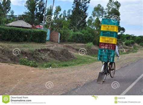 Commercial Transportation In Kenya Editorial Stock Photo