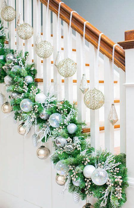 make your staircase garland display unique use zip ties