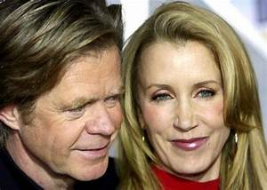 William H. Macy and wife Felicity Huffman Photo-1521029 ...