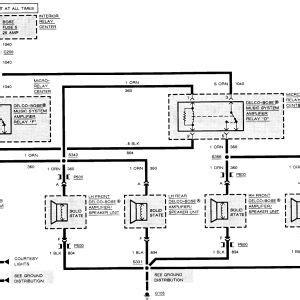 2000 cadillac radio wiring diagram free wiring diagram
