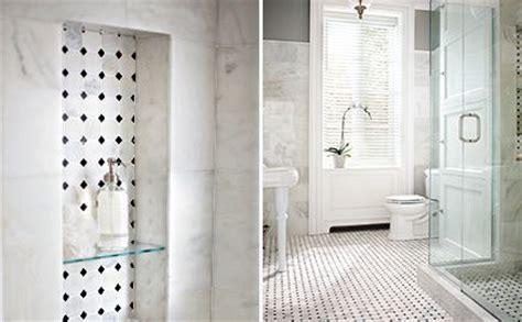 hall bath floor   niche  tub area