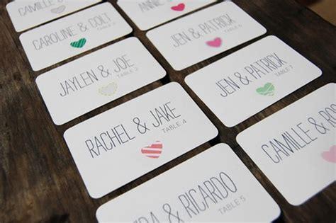 creative wedding escort card designs hongkiat