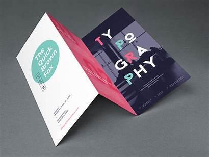 Fold Tri Brochure Mockup Template Graphicburger Templates