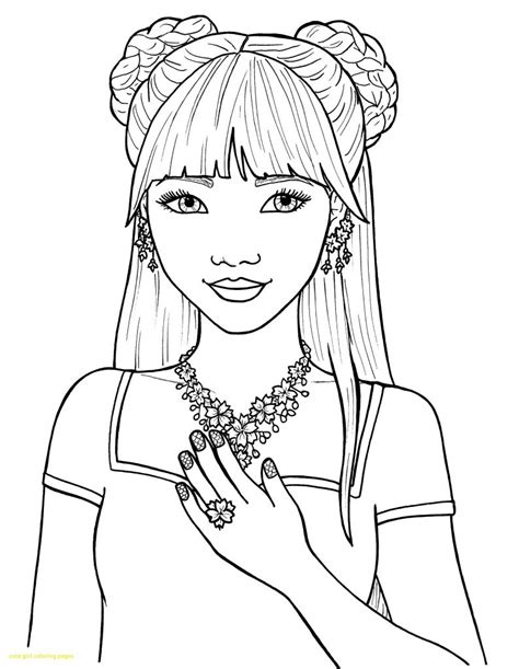coloring pages  girls  coloring pages  kids