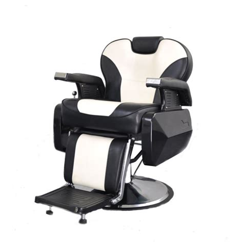 chaise hydraulique de coiffure deluxe comfort reclining barber chair
