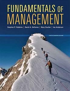 Fundamentals Of Management Canadian 8th Edition Robbins