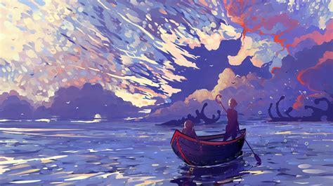 Digital Painting Wallpaper by Wallpaper Landscape Painting Illustration Digital