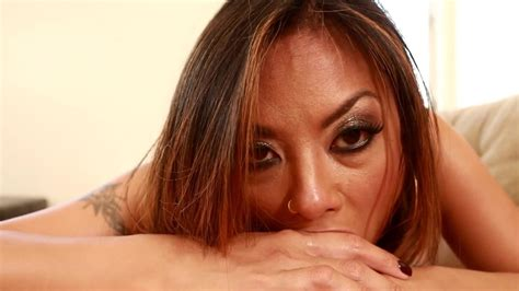 Asian Pornstar Is Sucking A Really Large Dick In Front Of