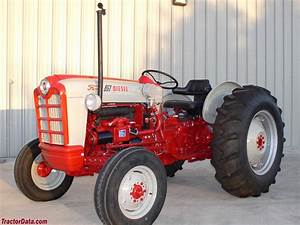 Ford 801 Powermaster Tractor Data